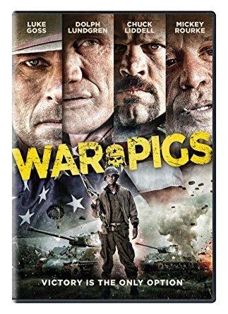 Dolph Lundgren & Chuck Liddell & Ryan Little-War Pigs