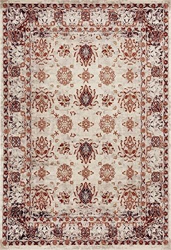 Royalty, Red Oriental Bordered Traditional Area Rugs | Area Rugs Cheap - Bargain Area Rugs
