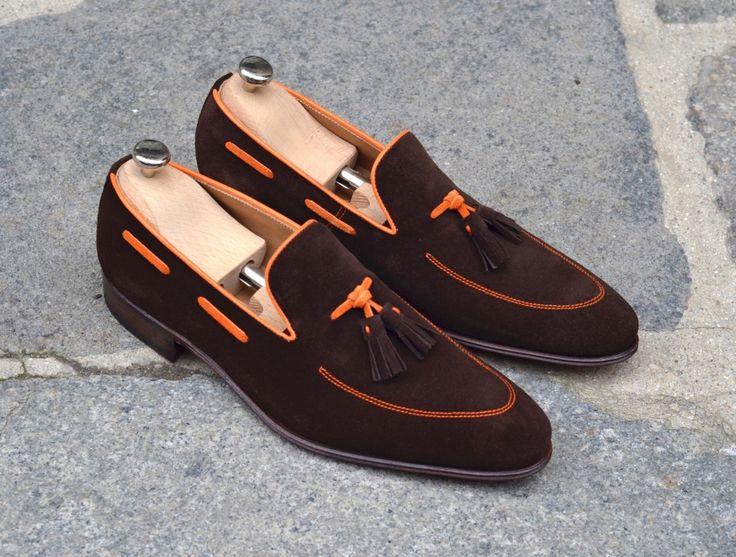 Caulaincourt shoes - Pink - orange mecanic