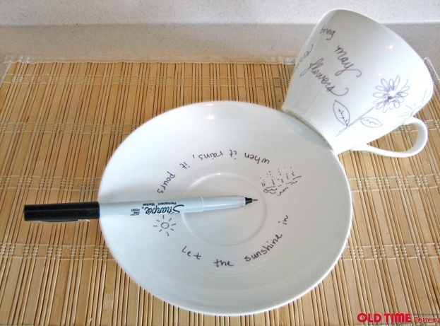 Do More for Less | Old Time Pottery  Customize ceramic dishes!