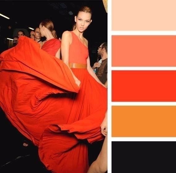 Сочетаем цвета в одежде правильно.