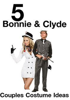 Halloween Wikii: Bonnie and Clyde Halloween Costumes for Couples