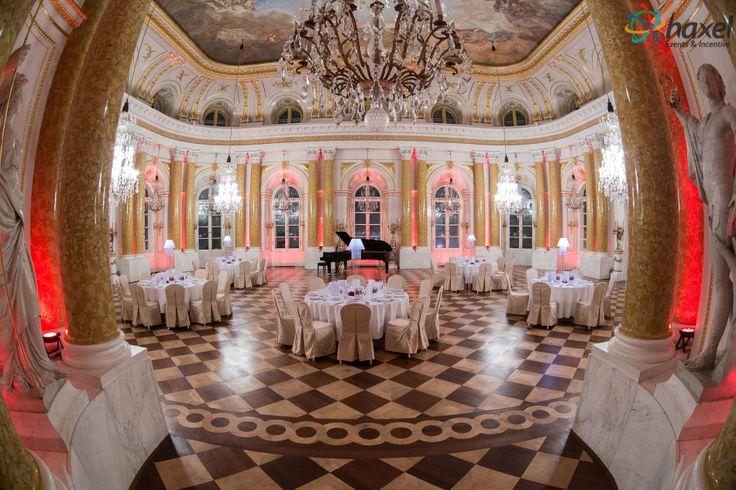 Splendid interior of the Warsaw Royal Castle