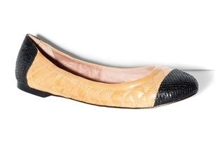 Vince Camuto Fawna Flat: Channel Chanel with these two-toned flats at a much