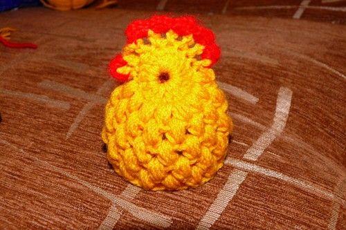 Мастер – класс по вязанию крючком; Цыпленок на пасхальное яйцо. Комментарии : LiveInternet - Российский Сервис Онлайн-Дневников