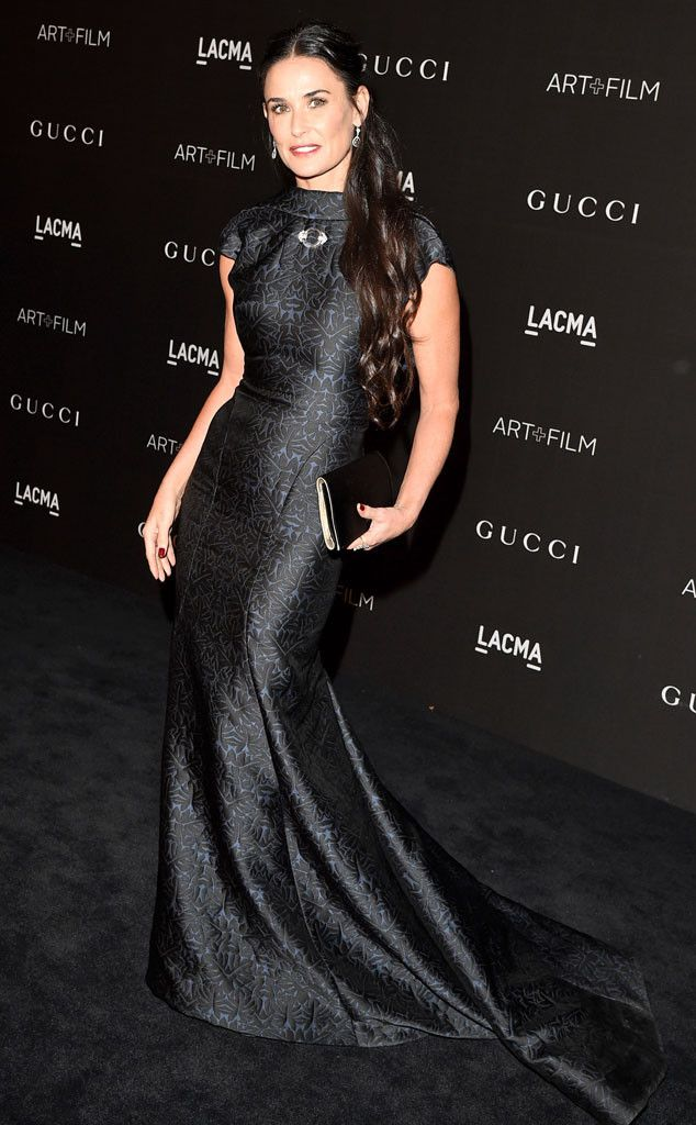 Demi Moore from Celebs at 2014 LACMA Art + Film Gala