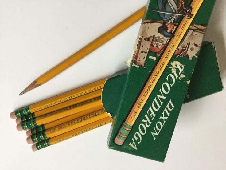 what are dixon ticonderoga pencils made of