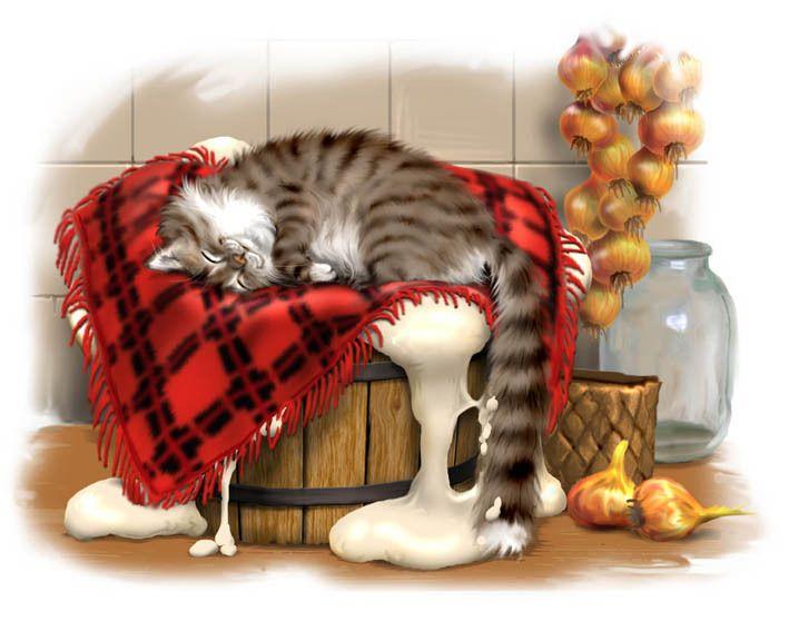боярской картинка кота иваныча рисунок будет