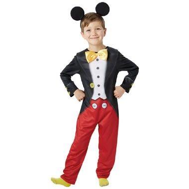 Disney Mickey Mouse kostuum - maat 116/128  Ga verkleed als Mickey Mouse in dit mooie kostuum. Het kostuum wordt geleverd inclusief haarband met oortjes.  EUR 28.99  Meer informatie