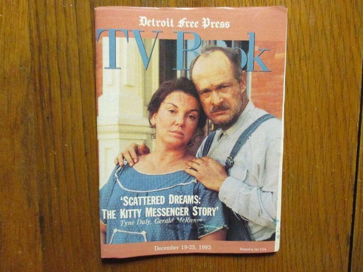 December 19, 1993 Detroit Free Press TV Book/Magazine(GERALD  McRANEY/TYNE DALY)