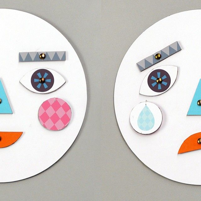 How's your Monday?  Make A Face - a fun DIY toy to express emotions - find it under Activities on Mr P!