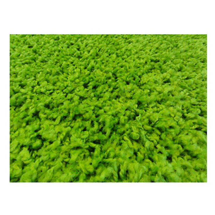 Dib Alfombra Shaggy Verde