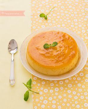 Flan de naranja, un delicioso postre casero al que pocos pueden resistirse. A los niños les va a encantar y a los papis también porque ¡está repleto de vitamina C! Es un postre muy saludable y com