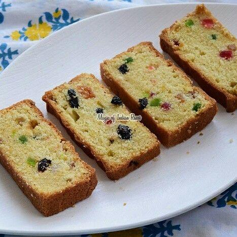 EGGLESS TUTTI FRUTTI CAKE - TEA TIME FRUIT CAKE   Watch video: https://youtu.be/qPxH-qPNT_s   Read recipe: http://www.magicofindianrasoi.com/2017/04/Eggless-Tutti-Frutti-Cake-Tea-Time-Fruit-Cake.html   #eggless #cake #teatime #dessert #yummy #nomnom #recipe #indianfood #IndianFoodBlogger #Indianfoodchannel #MagicofIndianRasoi #MOIR