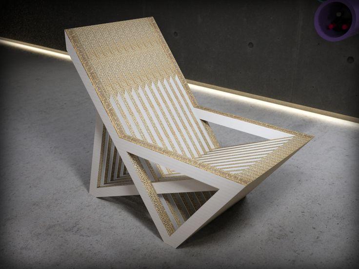 Sillon B es una de las piezas de mobiliario realizado en cartón del catálogo de Dcarton. Dcartón es un proyecto que apuesta por la utilización de este material como vehiculo para  introducir en los hogares, empresas, centros públicos y privados etc piezas de diseño ecólogico e innovador. Los muebles de Dcartón se fabrican por apilamiento y encolado de planchas de cartón de alta dureza y resistencia y madera DM 3 mm lacada en sus caras exteriores. Medidas: 900 x 530 x 800 mm $300