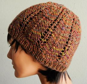 Autumn Leaves Hat in Nocturne DK - FREE pattern Using ...
