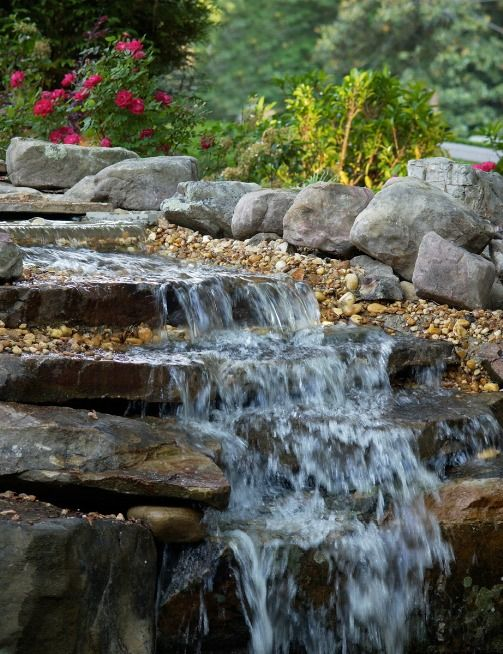 25 trending pond waterfall ideas on pinterest diy for Small pond care