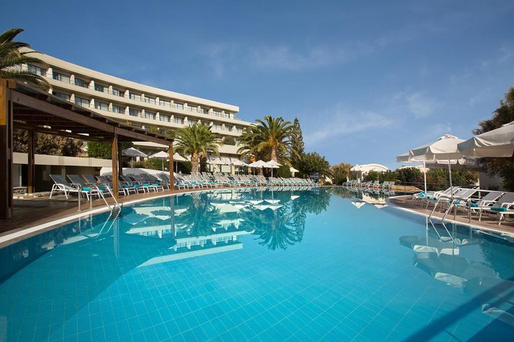 Agapi Beach All Inclusive Hotel || Featuring 3 fresh-water pools, children's facilities and a variety of dining options, the Agapi Beach is set along a beautiful beach and amongst landscaped gardens in the coastal resort of Ammoudara.