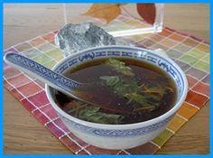Petite soupe vite prête d'inspiration japonaise