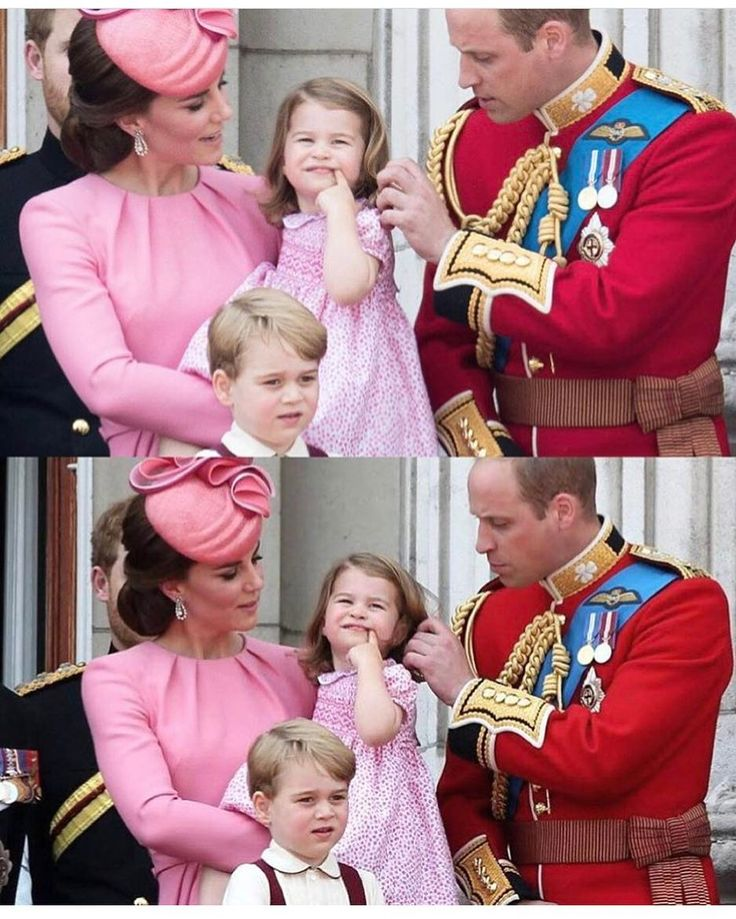 "221 Likes, 4 Comments - The Perfect Little Family (@british_royals) on Instagram: ""Look how cute William and Charlotte are together """