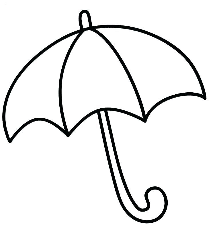 Umbrella Coloring Pages Umbrella Coloring Page
