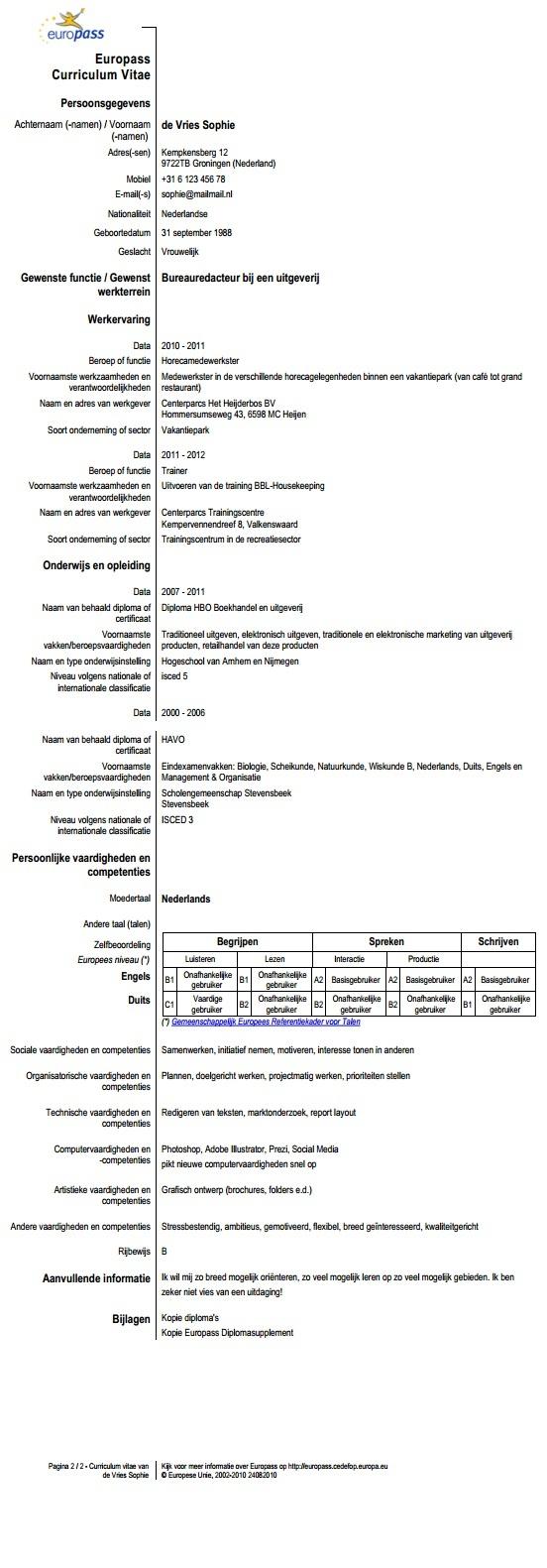 top ideas about europass cv template cv het europass cv is een initiatief van de europese commissie om de transparantie van een werknemer