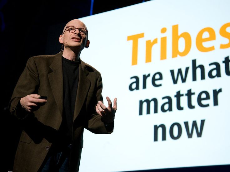 """It's about finding the true believers."" Seth Godin: The tribes we lead -- TED Talk"