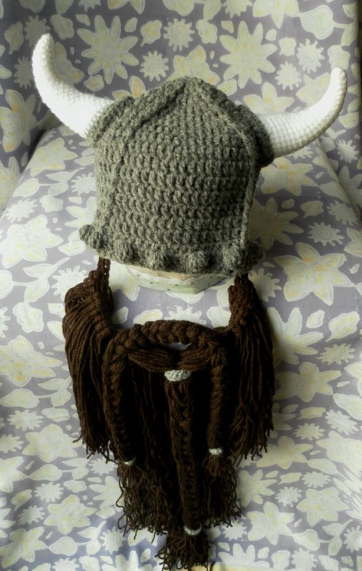 Free Crochet Patterns For Viking Hat : 17 Best images about Baby Crochet Patterns on Pinterest ...