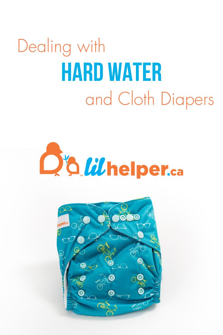 Dealing with hard water and cloth diapers cleaning cloth