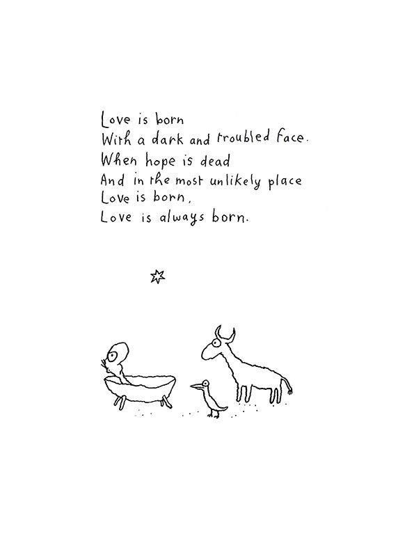 Love is Born | Michael Leunig❤️❤️
