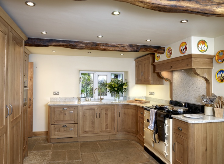 A stunning country kitchen