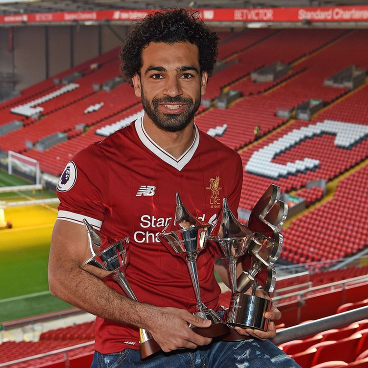 Mohamed Salah , the player of the month in Liverpool for the fourth time in 5 months