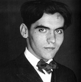 Federico Lorca, Spanish poet. He was executed by Nationalist forces early in the civil war and his body has never been found.