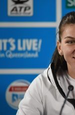 Simona Halep speaks at press conference 2016 Brisbane International http://celebs-life.com/simona-halep-speaks-press-conference-2016-brisbane-international/  #simonahalep