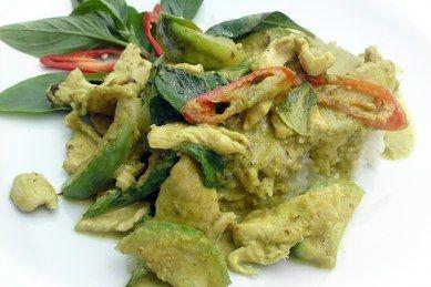 Opskrifter.dk: Green Curry Chicken