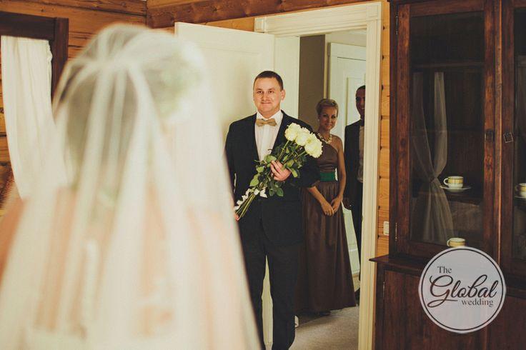 Встреча жениха и невесты. Фотограф Дмитрий Герасимович