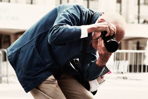 Bill Cunningham, fashion photographer of the NYTimes