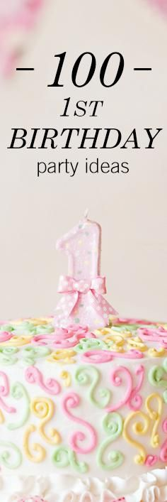 Have a first birthday party to plan? If the big one is coming up for a child in your life, here are 100 first birthday ideas full of inspiration to get your party planning started.
