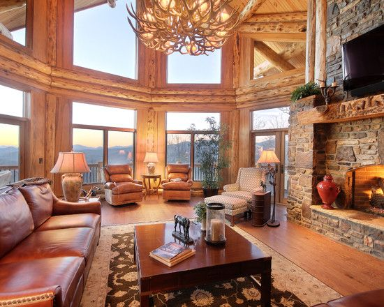 Warm U0026 Cozy Winter Wooden Home Decor, 15 Rustic Living Room Designs Heat  Rustic Fireplace Ideas Over The Past Couple Of Days, U0026 Cozy Winter Wooden  Home ... Part 75