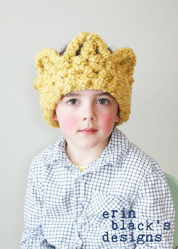 Crochet Pattern for Chunky Crochet Crown Earwarmer by Erin Black's Designs on Etsy