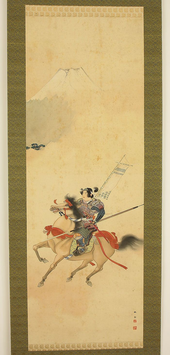 "SOJU ""Samurai Warrior on Horse"""