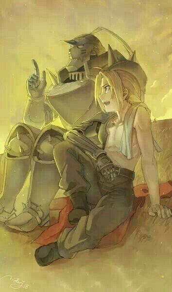 Edward, Alphonse, Elric brothers; Fullmetal Alchemist