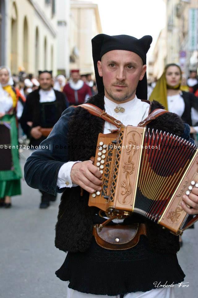 bent72photos #Sardinian #traditional #costume #male