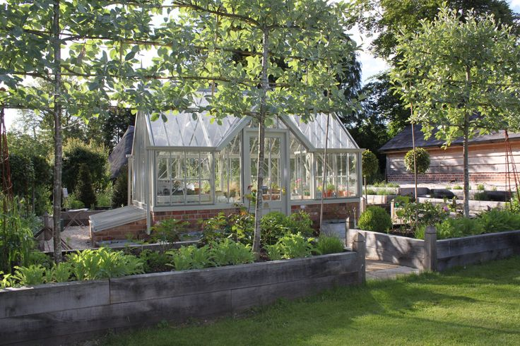 Alitex greenhouse in pottager