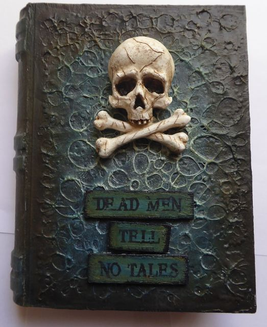 Paper Mache Book Cover : Best halloween altered books images on pinterest