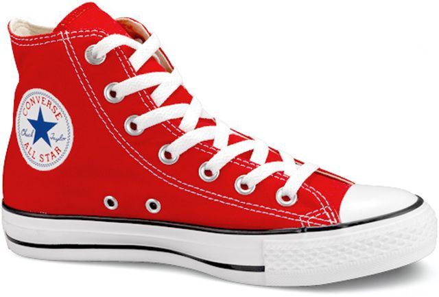 Chuck Taylor Converse All-Star in RED is classic but you cannot go wrong with any color in these babies!