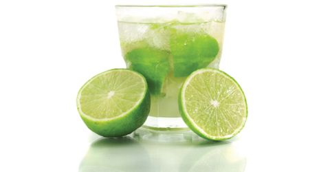 Caipirinha: A wonderful summer cocktail. If you can't find cachaça, which is a Brazilian rum, you can use any white rum (or in a pinch you can make it with vodka).