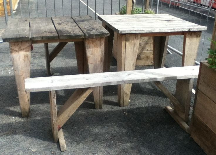 Garden Furniture Made From Scaffolding Planks 1214 best reclaimed garden design images on pinterest | pallets