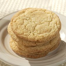 Quick and Easy Sugar Cookies by kingarthurflour: Simple, sweet and comforting with a little crunch, a tender center and a familiar undertone of flour. Customize in many ways, for example, with lemon zest or roll the unbaked cookies in cinnamon sugar before cooking for a perfect snickerdoodle! #Sugar_Cookie #Cookie #kingarthurflour