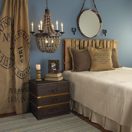 Rustic Bedroom - Shades of Light